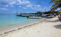 Beach Activities on Roatan Island