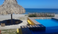 Beachfront Home in La Ceiba
