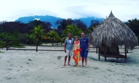 Clients at Playa Vida